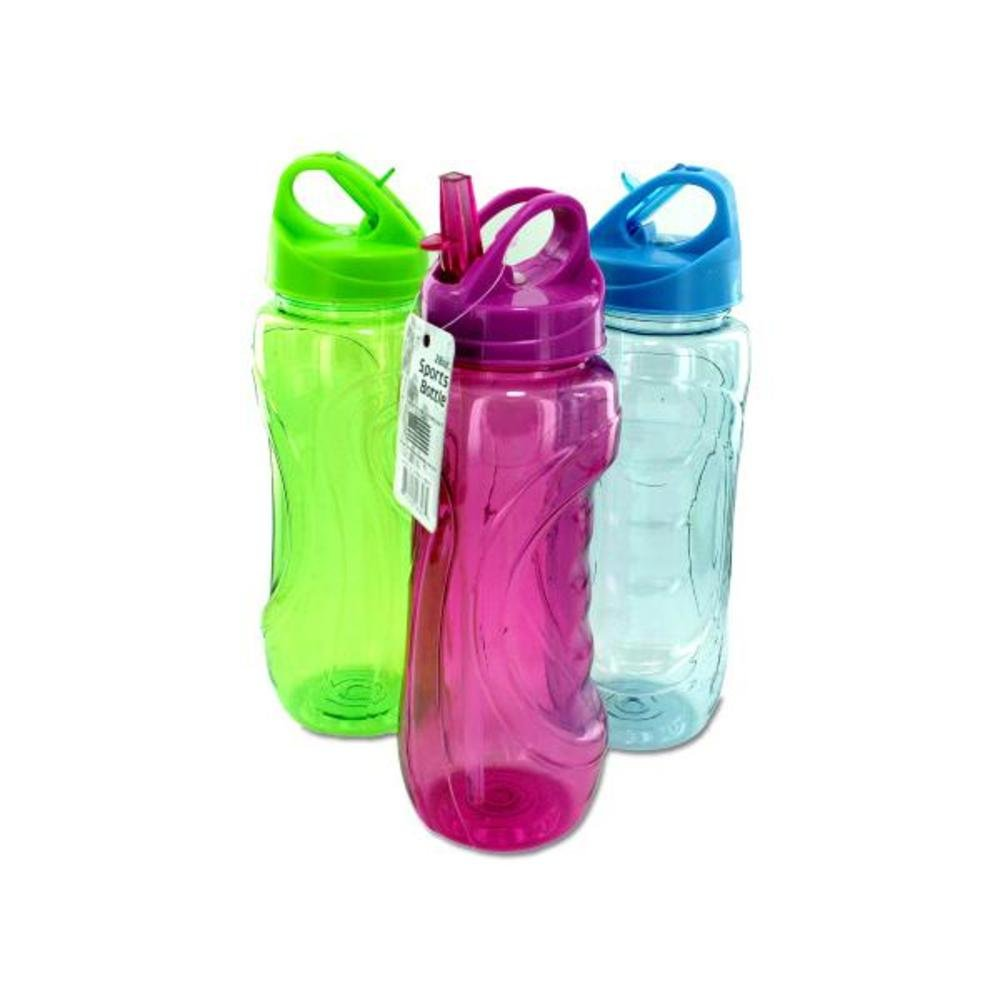 FindingKing Sports Bottle with Flip Straw 48Pcs