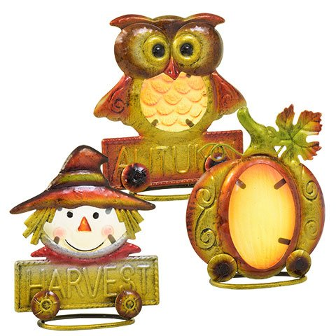 Autumn Harvest Icon Table Decorations, Set of 3 by Greenbrier (Image #4)