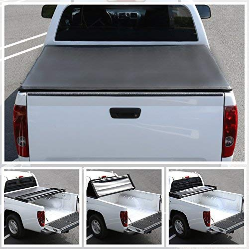 R&L Racing for Ranger Flareside/Splash 6ft Short Bed Tri-Fold Tonneau Cover