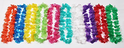 Plastic Flower Leis - 3