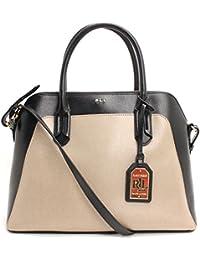 Tate Dome Satchel (Porcini / Black) � 228 � Product Details. RALPH LAUREN