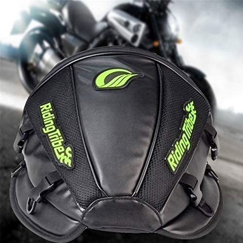 KaTur Motorcycle Backseat Tank Bag Multifunctional Waterproof PU Leather Storage Saddle Bag Motorbike Rear Seat Super Light Tail Accessories Bags -Black 51BxcCd7anL