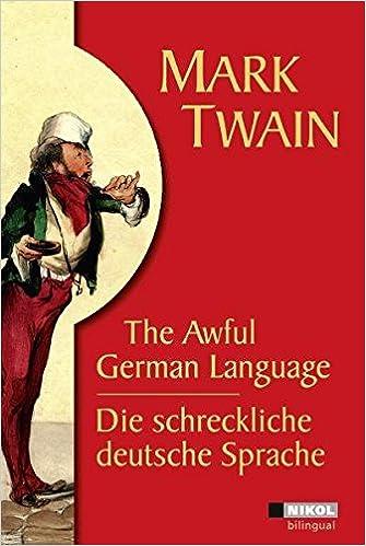 Mark Twain, Die schreckliche deutsche Sprache