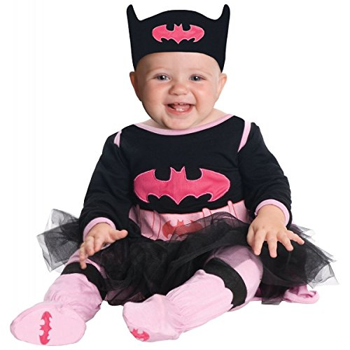 GSG Batgirl Onesie Costume Baby Halloween Fancy -