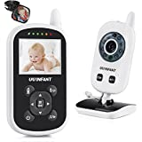 Video Baby Monitor with Camera, Upgrade 2017 UU Infant Wireless Crystal Clear Video Monitoring Night Vision Temperature Display Lullaby