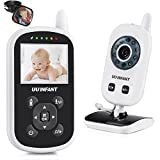 Video Baby Monitor with Camera, Upgrade UU Infant Wireless Video Monitoring 2 Way Talk Night Vision Lullaby Nightlight