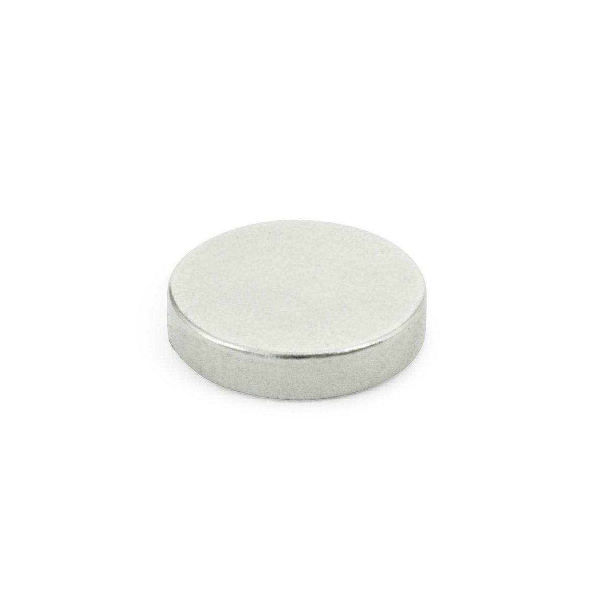 J.W. Winco 55.2-SC-12-3 GN55.2 Disk Shaped Raw Magnet, 0.47'' Diameter, 0.12'' Thickness, Samarium and Cobalt Combination AlNiCo Magnet