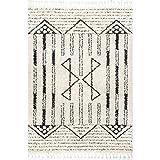 nuLOOM Janna Striped Shag Area Rug, 4' x