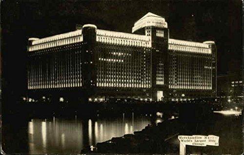 Merchandise Mall-World's Largest Bldg Chicago, Illinois Original Vintage - Illinois Malls Chicago
