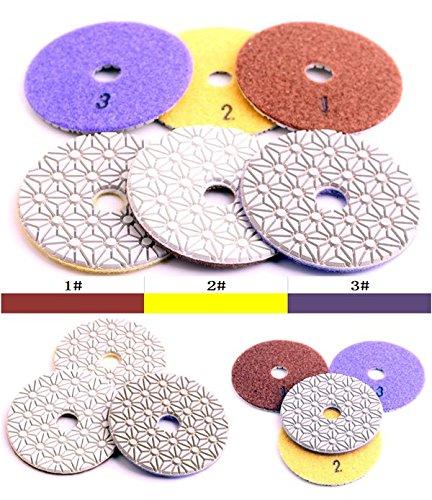 diamond polishing pads set - 9