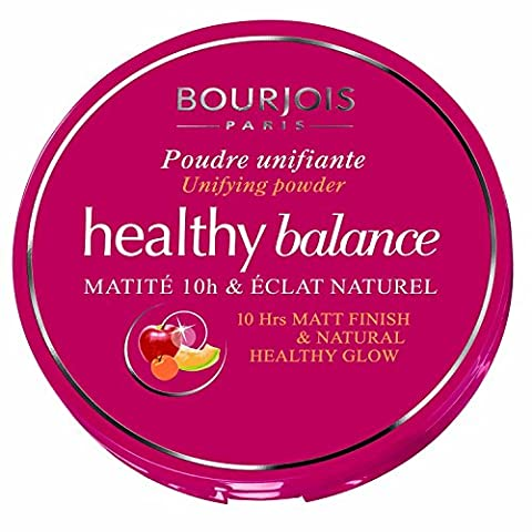 Bourjois Healthy Balance Unifying Compact Powder for Women, # 52 Vanille, 0.32 Ounce