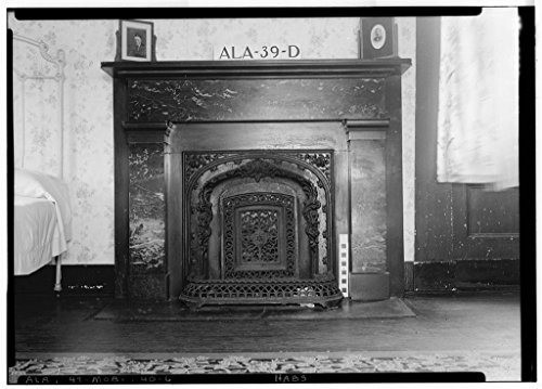 8 x 12 Photo 6. Historic American Buildings Survey E. W. Russell, Photographer, October 2, 1935 Fireplace, Front Room - 351 Saint Michael Street (House), 351 Saint Michael Street, After 1933 15a by Vintography