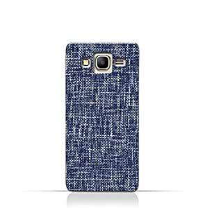 AMC Design Samsung Grand Prime TPU Silicone Case with Brushed Chambray Pattern