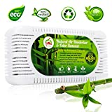 baking soda odor eliminator - Natural Air Deodorizer and Odor Remover - Activated Bamboo Charcoal Odor Absorber and Home Air Purifier - Charcoal Odor Eliminator for Car and Shoes - Effective Fridge and Closet Freshener