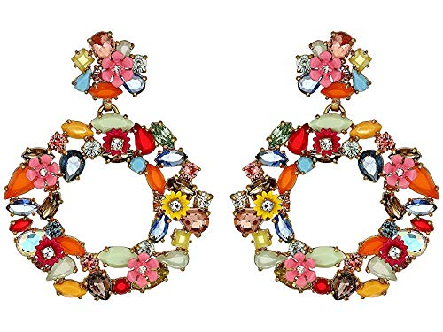 J.Crew Women's Watusi Earrings Multicolor One Size for sale  Delivered anywhere in USA