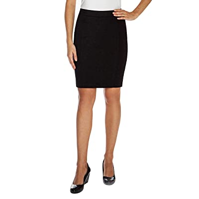 Mario Serrani Bodymagic Slimming Skirt for Women (X-Large, Black) at Women's Clothing store