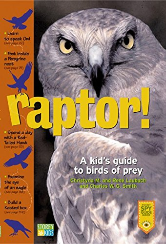 Raptor A Kid S Guide To Birds Of Prey Laubach Christyna M Laubach Rene Smith Charles W G 9781580174459 Amazon Com Books