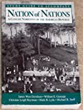 Nation of Nations Vol. 2 : A Concise Narrative of the American Republic, Davidson, James West and Gienapp, William E., 0070157421
