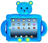 Cuddle Case Bluebeary Kids Protective Teddy Bear Case for 9.7 inch IPad/Galaxy Tablets