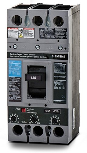 New Siemens FXD63B175L Circuit Breaker Sentron 3 Pole 175A 600V 35kA FXD by Siemens
