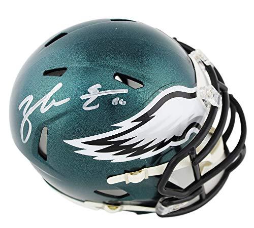 Zach Ertz Autographed/Signed Philadelphia Eagles Speed NFL Mini Helmet