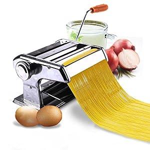 "New 150mm 6"" Pasta Maker & Roller Machine Noodle Spaghetti & Fettuccine Maker Health"