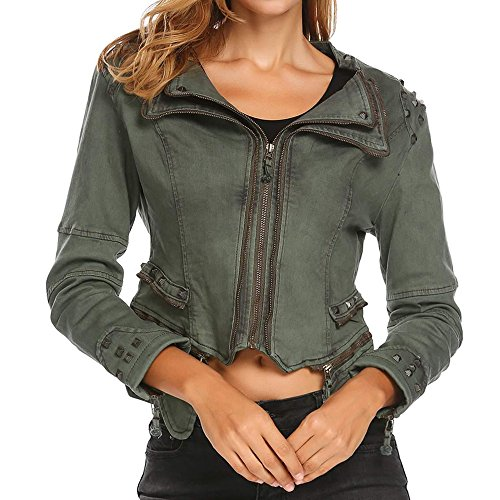 Giacca Army Meaneor Giacca Green Donna Meaneor Green Army Donna 4PqpC