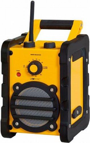 7 opinioni per Clatronic BR 816 Boombox stereo radio portatile da cantiere (impermeabile,