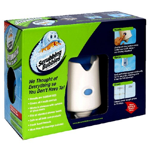 Shower Cleaner Starter - Scrubbing Bubbles Automatic Shower Cleaner Starter Kit, 1 ct