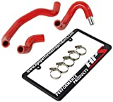 HPS 57-1437-RED Z34 Silicone Heater Hose Kit Coolant