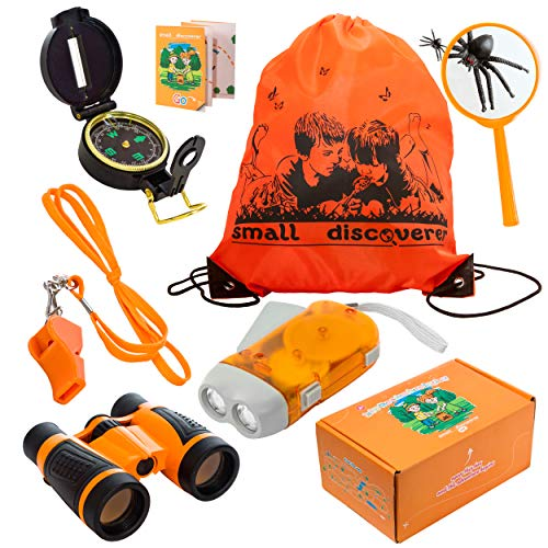 Outdoor Exploration Set - Kids Adventure Pack - Perfect 3-12 year old boy toys and girl toys - Good Birthday and Christmas Gift - Children Outdoor Educational (Good Girls For Christmas Presents)