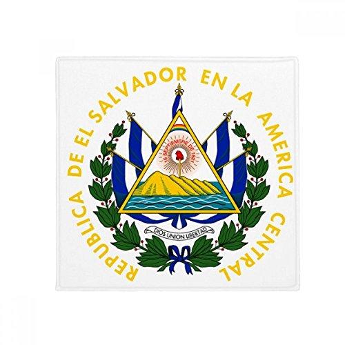 DIYthinker San Salvador El Salvador National Emblem Anti-Slip Floor Pet Mat Square Home Kitchen Door 80cm Gift
