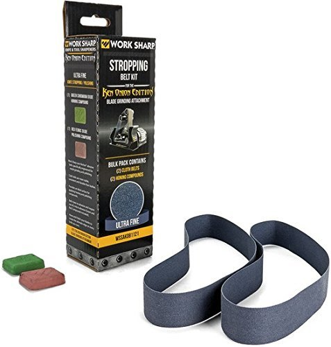 Work Sharp Ken Onion Stropping Belt Kit (Work Sharp Ken Onion Blade Grinding Attachment)
