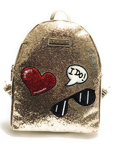 Love Moschino Sparkling backpack glitter gold Baúl Barato Envío Del Precio Bajo Tarifa Manchester Gran Venta Barato 100% Auténtico lXdyylXSnF