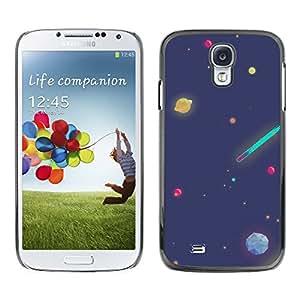 Stuss Case / Funda Carcasa protectora - Cartooned Planetary Bodies - Samsung Galaxy S4