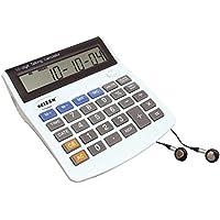 10-Digit Talking Calculator-Earphone-Talking Alarm
