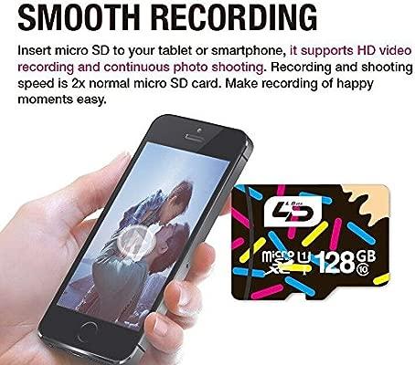 gaoshuo® LD tarjeta micro SD de 32 GB, clase 10 16 GB/64GB ...