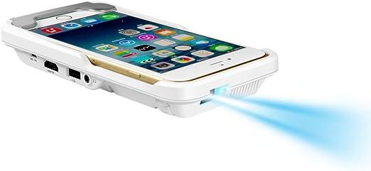 ZYWX Proyector De Teléfono Móvil para Apple HD 1080P Proyector LED ...
