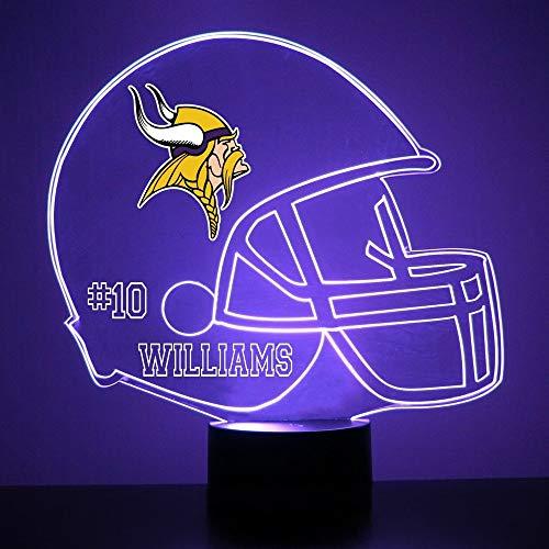 Light Up Viking Helmet - Mirror Magic Light Up LED Lamp