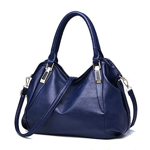 Sac PU 36 Dark Couleurs à Sac 001 Bag Blue CM 26 à Mlle ANLEI bandoulière Messenger Mode AZ 15 5 Main dCwqdpY