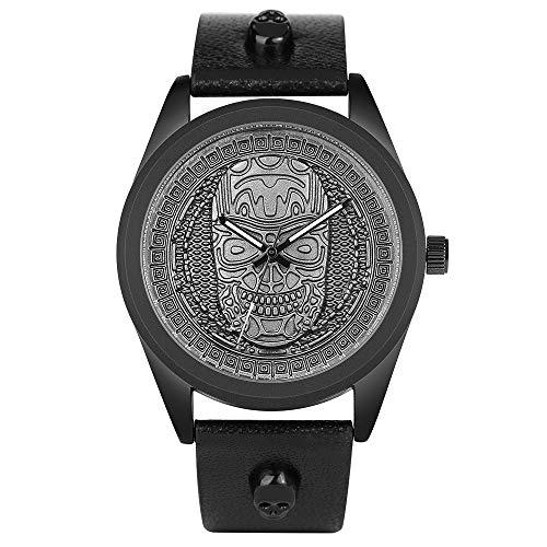 Genuine Shark Watch - Watches for Men, Simple Brand Quartz Wrist Watches, Men Genuine Leather Shark Mesh Clock Male
