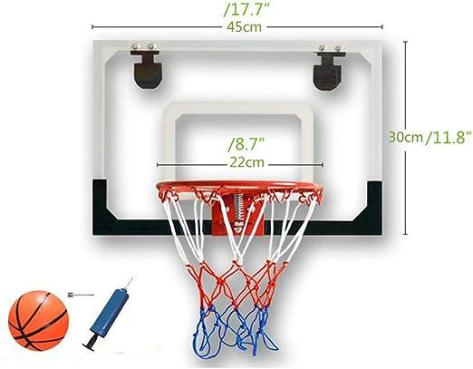 Tablero de baloncesto transparente para colgar en la pared ...