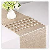SoarDream Sequin Table Runner 12inch x 72inch