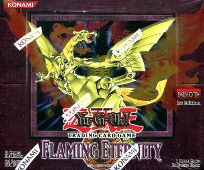 Yu-Gi-Oh Flaming Eternity 1st Edition Sealed Booster Box - Sports Memorabilia