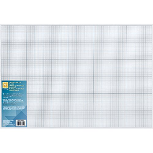 Wrights 670052 Gridded Plastic Template