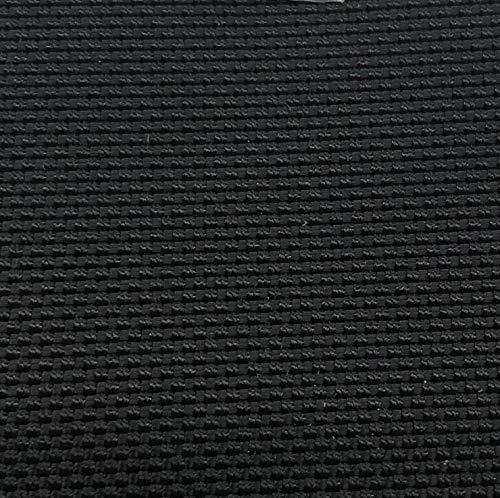 1 Yard of 58-60 Inch Wide 1050 Denier Polyurethane Coated CORDURA Ballistic Nylon Fabric, Black. Every Yard Includes a Free Cordura sew-in Label and Cordura hangtag.