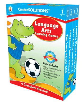 Language Arts Learning Games Grade 1 Centersolutions -- Case of (Centersolutions Language Arts)