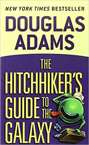 Image result for hitchhiker's guide to the galaxy amazon