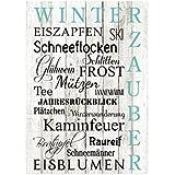 Xl shabby vintage schild dekoschild to do liste advent - Dekoration winterzauber ...