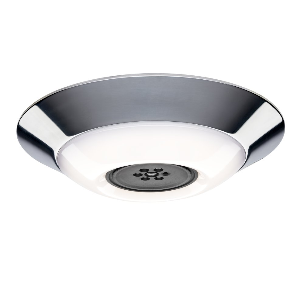 Haiku Home Premier LED Indoor/Outdoor 2200-5000K Lighting, Polished Aluminum, Works with Alexa